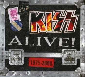 Kiss - Alive! 1975-2000 [4 CD Box Set, B0007586-02 USA] (2006)