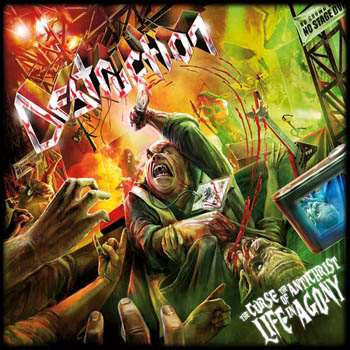 Destruction - The Curse Of The Antichrist - Live In Agony (2009)