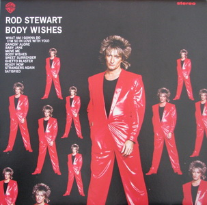 Rod Stewart Body Wishes 1983