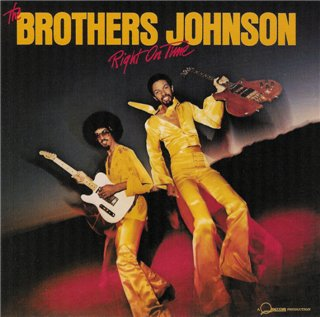The Brothers Johnson   Right On Time  1977 (1996)