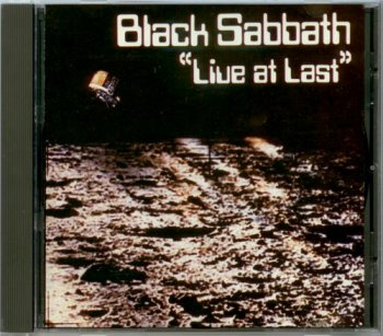 Black Sabbath - Live At Last [1st Japan press, NELCD 001 1986] (1980)