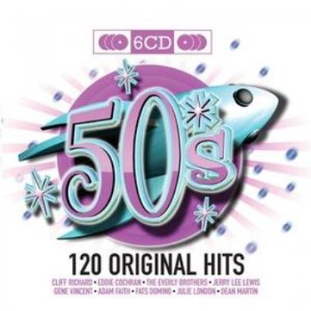 VA - 50's 120 Original Hits (6 cd) (2010)
