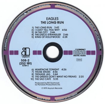 Eagles – The Long Run [Asylum Records, 508-2 (252 181)] (1979)