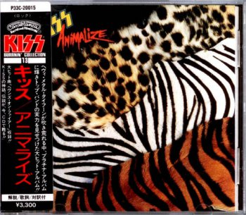 Kiss - Animalize [Japan 1st Press, P33C-20015, 1986] (1984)
