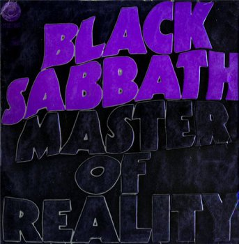 Black Sabbath - Master Of Reality [Vertigo, 6360 050, LP (VinylRip 24/192)] (1971)