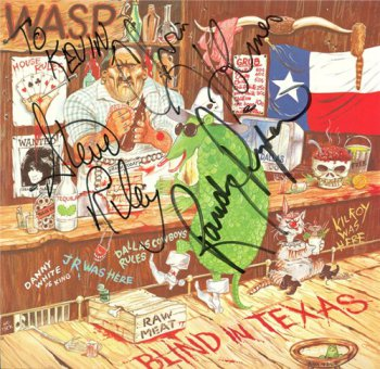 W.A.S.P. (WASP) - Blind In Texas [Capitol, 12CL 374, LP, (VinylRip 24/192)] (1985)
