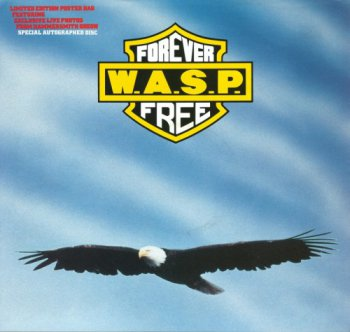 W.A.S.P. (WASP) - Forever Free [Capitol / EMI UK, 12CLS 546, LP, (VinylRip 24/192)] (1989)