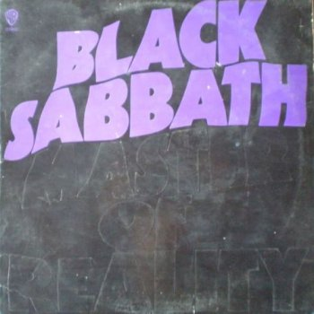 Black Sabbath - Master Of Reality (Warner Bros. US Original LP VinylRip 24/192) 1971