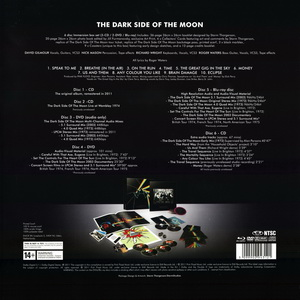 Pink Floyd ● The Dark Side Of The Moon ● 3CD + 2 DVD + Blu Ray Immersion Box Set EMI Music