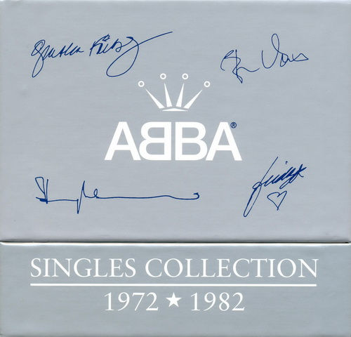 1999 ABBA - The Singles Collection 1972-1982 (27CD Single Box Set Polar Music)