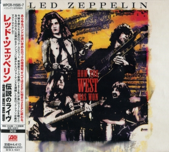 Led Zeppelin - How The West Was Won 3CD (2003 Atlantic/Warner Music, Japan)