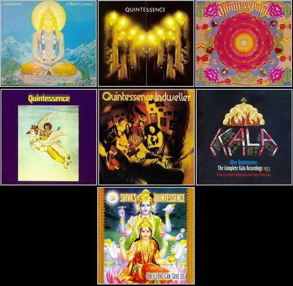 Quintessence: 5 Albums 1969-1972 ● After Quintessence: The Complete Kala Recordings 1973 ● Shiva's Quintessence 2011