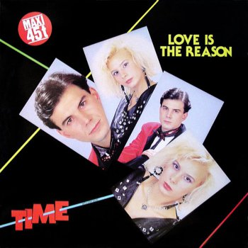 Time - Love Is The Reason (Vinyl, 12'') 1985