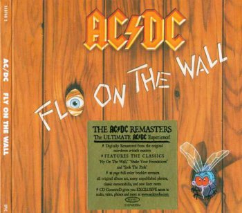 AC/DC - Fly On The Wall (Epic, Remastered 2003)