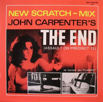 John Carpenter - The End (Vinyl, 12'') 1983