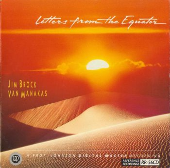 Jim Brock and Van Manakas - letters from the Equator (1993)