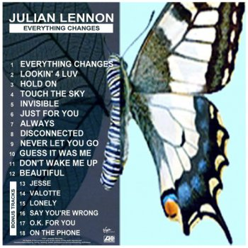Julian Lennon - Everything Changes (2011) (bonus tracks)