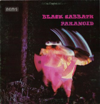 Black Sabbath - Paranoid [NEMS, NEL 6003, UK, LP (VinylRip 24/192)] (1970/1976)