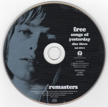 Free - Songs Of Yesterday (5CD Boxset) 2000
