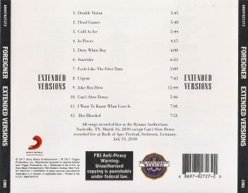 Foreigner - Extended Versions (released by Boris1)