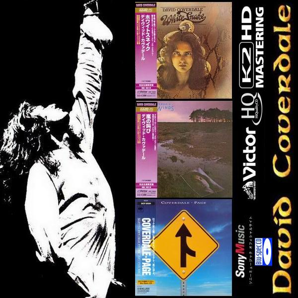 David Coverdale: 3 Albums • Japanese Reissue 2011