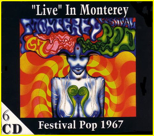 Monterey Festval Pop 1967: 6CD Box Set On Stage Records 1994