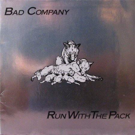Bad Company - Run With The Pack [Island Records, UK, LP, (VinylRip 24/192)] (1976)