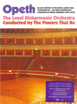 OPETH '2010 - In Live Concert At The Royal Albert Hall (3CD)
