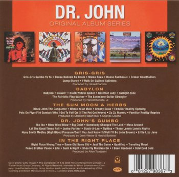 Dr. John - Original Album Series (Box Set 5 Cd) (2009)