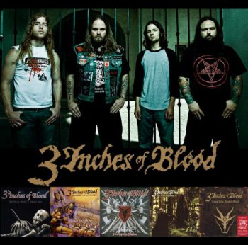 3 Inches Of Blood - Дискография (2002-2012)