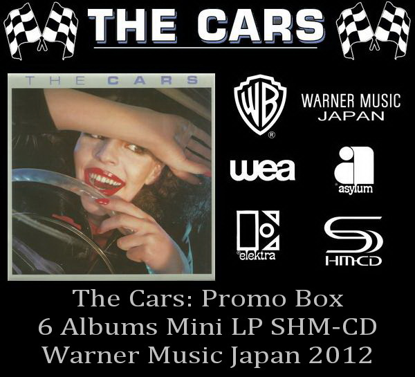 The Cars: 6 Mini LP SHM-CD - Promo Box Warner Music Japan 2012