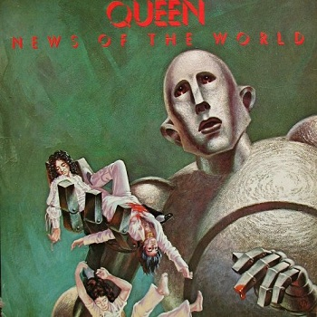 Queen - News Of The World (1977) VinylRip (24/192)