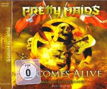 Pretty Maids - It Comes Alive: Maid In Switzerland 2CD (2012)
