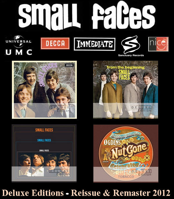 Small Faces: 4 Albums • Deluxe Editions - Universal Music Reissue & Remaster 2012