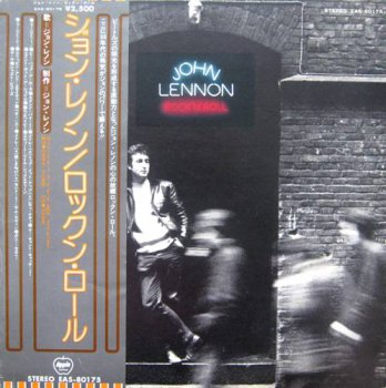 John Lennon ‎- Rock 'N' Roll (Japan Apple Records Lp VinylRip 24/96) 1975