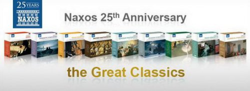 The Great Classics - Naxos 25 Years 9 Box x 10CDs 2012