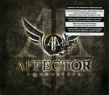 Affector - Harmagedon [Limited Edition] (2012)