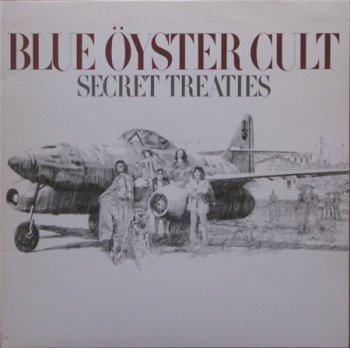 Blue Oyster Cult (BOC) - Secret Treaties [Columbia – PC 32858, US, LP (VinylRip 24/192)] (1974)