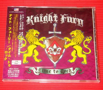 Knight Fury - Time To Rock [Japan] (2012)