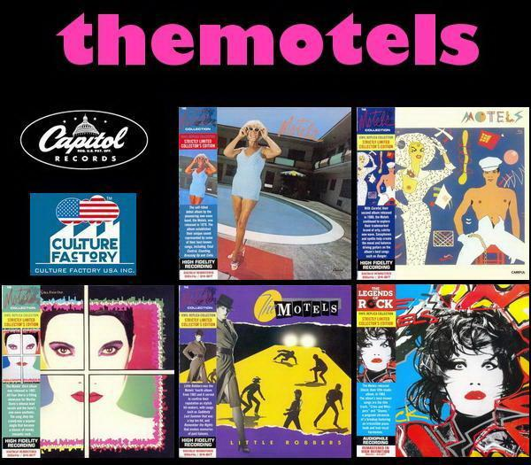 The Motels: 5 Albums - Strictly Limited Collector's Edition / Culture Factory USA 2012
