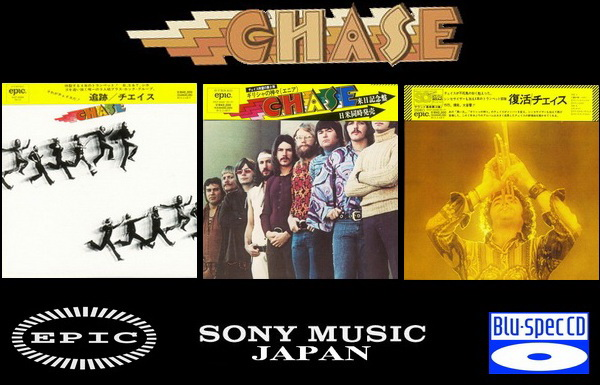 Chase: 3 Albums Mini LP Blu-spec CD - Sony Music Japan 2012