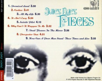 Juicy Lucy - Pieces 1972 (Repertorie Rec. 1997)