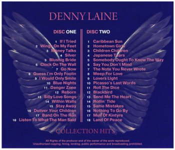 Denny Laine - Collection Hits [2CD] (2012)