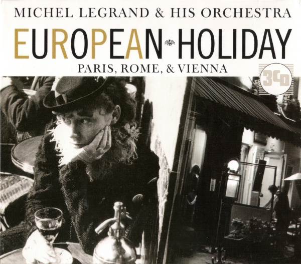 Michel Legrand & His Orchestra - European Holiday (3 CD Box Set)