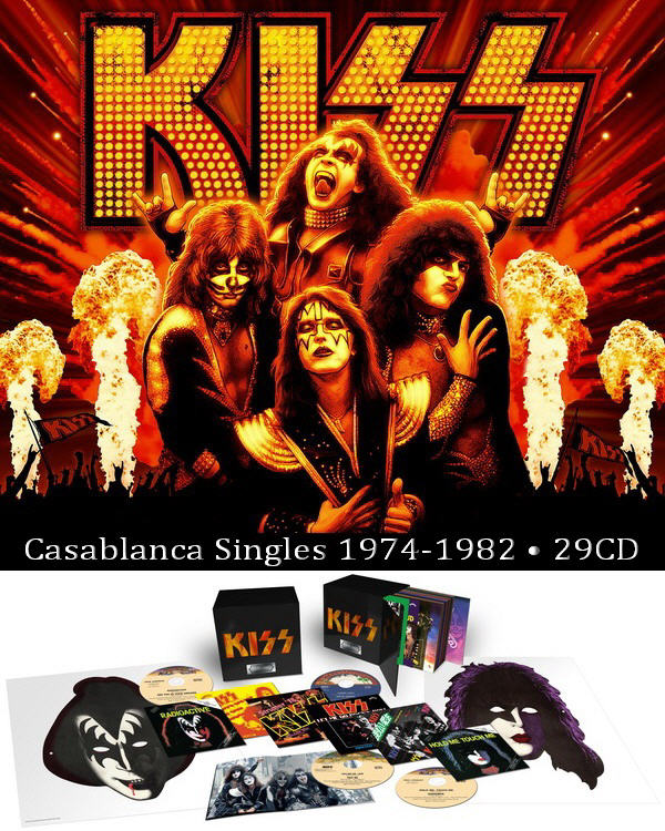 Kiss: The Casablanca Singles 1974-1982 - 29CD Box Set The Island Def Jam Music Group ● Remaster 2012
