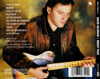 David Gilmour - About Face 1984 (David Gilmour Music 2006)