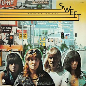 The Sweet - Desolation Boulevard [Capitol Records, US, LP, (VinylRip 24/192)] (1975)