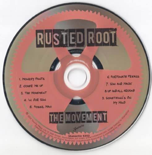 Rusted Root - The Movement (2012)