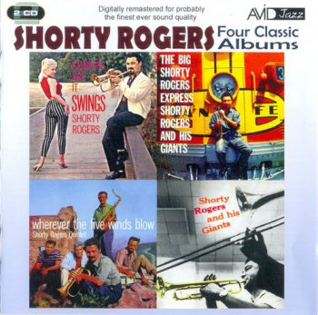 Shorty Rogers - Four Classic Albums (2011)
