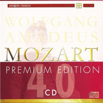 Wolfgang Amadeus Mozart - Premium Edition (40 CD Box)